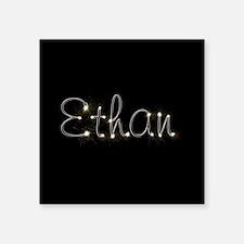 "Ethan Spark Square Sticker 3"" x 3"""
