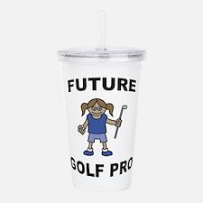 Future Golf Pro Acrylic Double-wall Tumbler