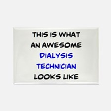 awesome dialysis technician Rectangle Magnet