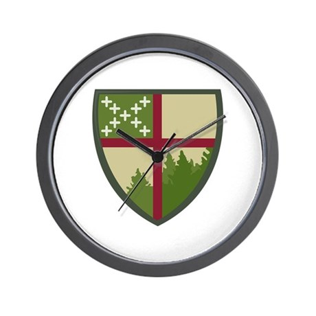 Camp Allen Wall Clock