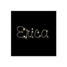 "Erica Spark Square Sticker 3"" x 3"""