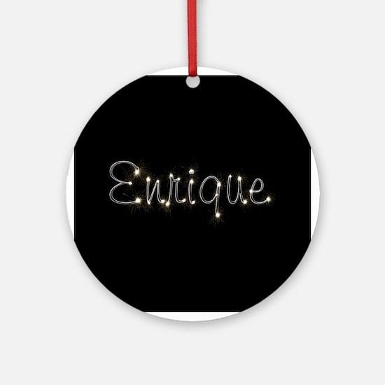 Enrique Spark Ornament (Round)