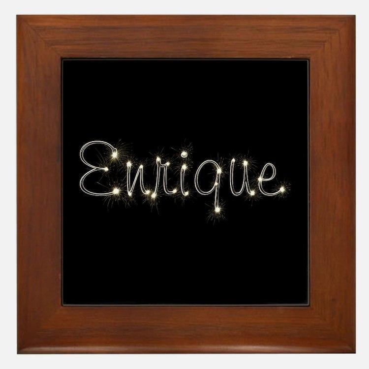 Enrique Spark Framed Tile