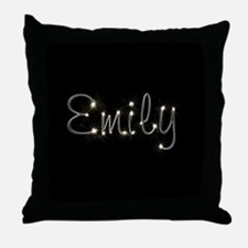 Emily Spark Throw Pillow