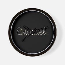 Emanuel Spark Wall Clock