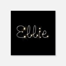 "Ellie Spark Square Sticker 3"" x 3"""