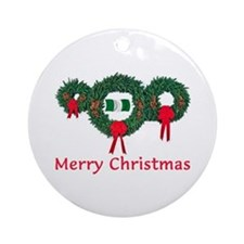 Nigeria Christmas 2 Ornament (Round)