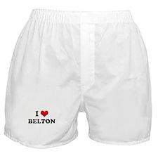 I HEART BELTON  Boxer Shorts