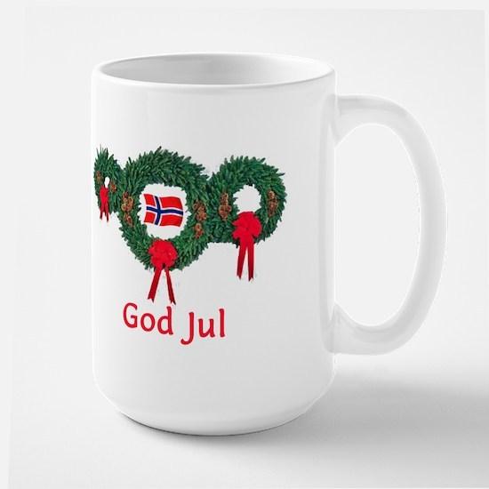 Norway Christmas 2 Large Mug