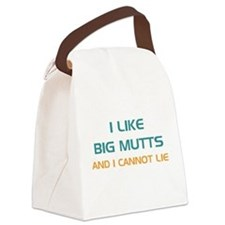 Cute Animal rescue Canvas Lunch Bag