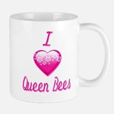 I Love/Heart Queen Bees Mug