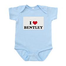 I HEART BENTLEY  Infant Creeper