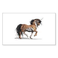 Tiger Unicorn Decal