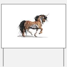Tiger Unicorn Yard Sign