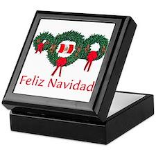 Peru Christmas 2 Keepsake Box