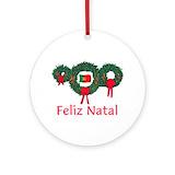 Feliz natal Ornaments
