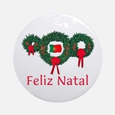Portugal Christmas 2 Ornament (Round)