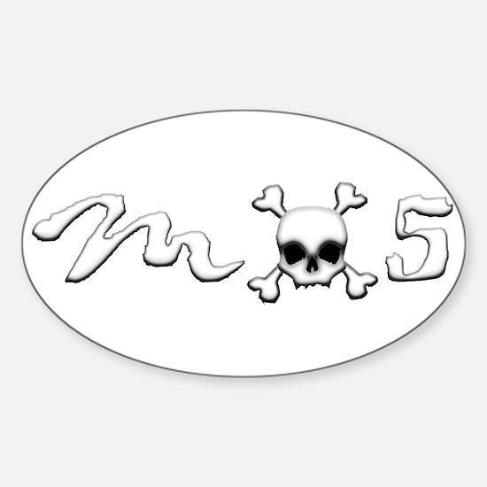 MX5 Skull Sticker (Oval)