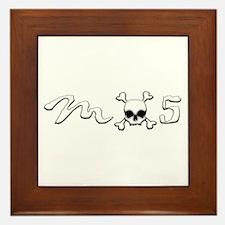 MX5 Skull Framed Tile