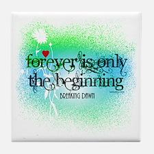 Twilight Breaking Dawn Forever Tile Coaster
