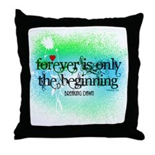 Twilight Breaking Dawn Forever Throw Pillow