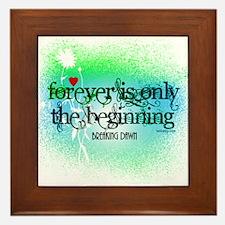 Twilight Breaking Dawn Forever Framed Tile