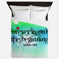 Twilight Breaking Dawn Forever Queen Duvet