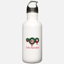 Puerto Rico Christmas 2 Water Bottle