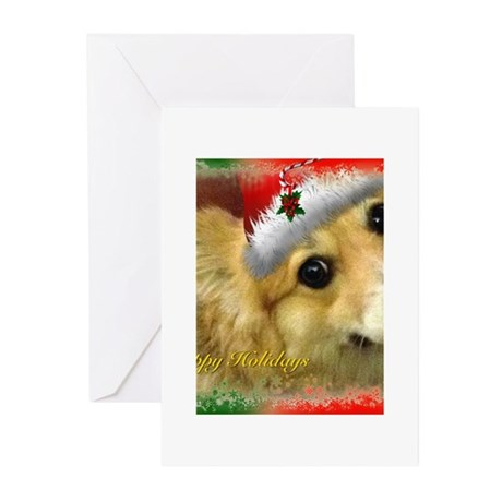 I Support Rescue Holiday Greeting Cards (Pk of 10)