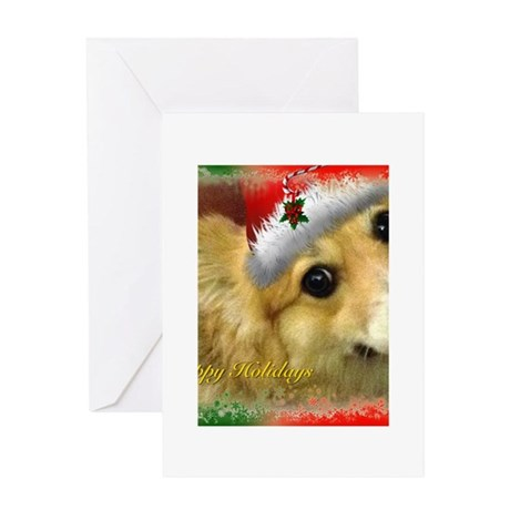 I Support Rescue Holiday Greeting Card