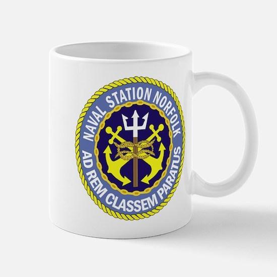 Naval Station Norfolk Mug
