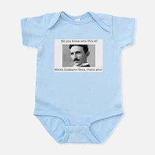 Nikola Goddamn Tesla Infant Bodysuit
