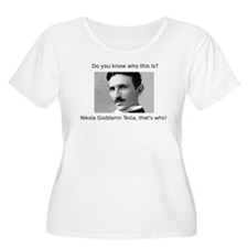 Nikola Goddamn Tesla T-Shirt