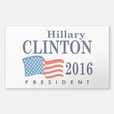 Hillary Clinton 2016 Sticker (Rectangle)