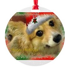 I support Rescue- Happy Holidays Ornament