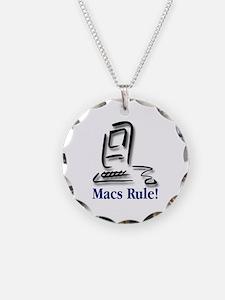Macs Rule! Necklace
