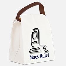 Macs Rule! Canvas Lunch Bag