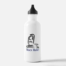 Macs Rule! Water Bottle