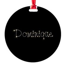 Dominique Spark Ornament
