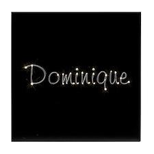 Dominique Spark Tile Coaster