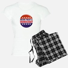 DEMOCRAT POLITICAL BUTTON Pajamas