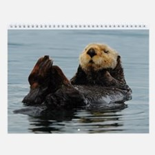 Unique Otter Wall Calendar