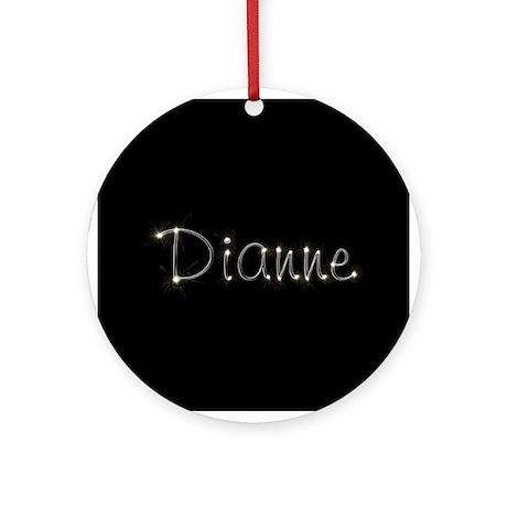 Dianne Spark Ornament (Round)