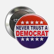 "DEMOCRAT POLITICAL BUTTON 2.25"" Button"