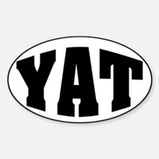 YAT Oval Decal