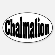 Chalmation Oval Decal