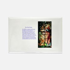 23rd Psalm Rectangle Magnet