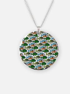 School of Sunfish fish Necklace
