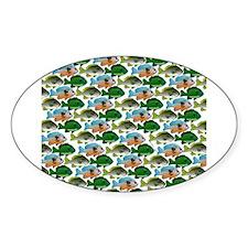 School of Sunfish fish Decal