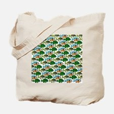 School of Sunfish fish Tote Bag